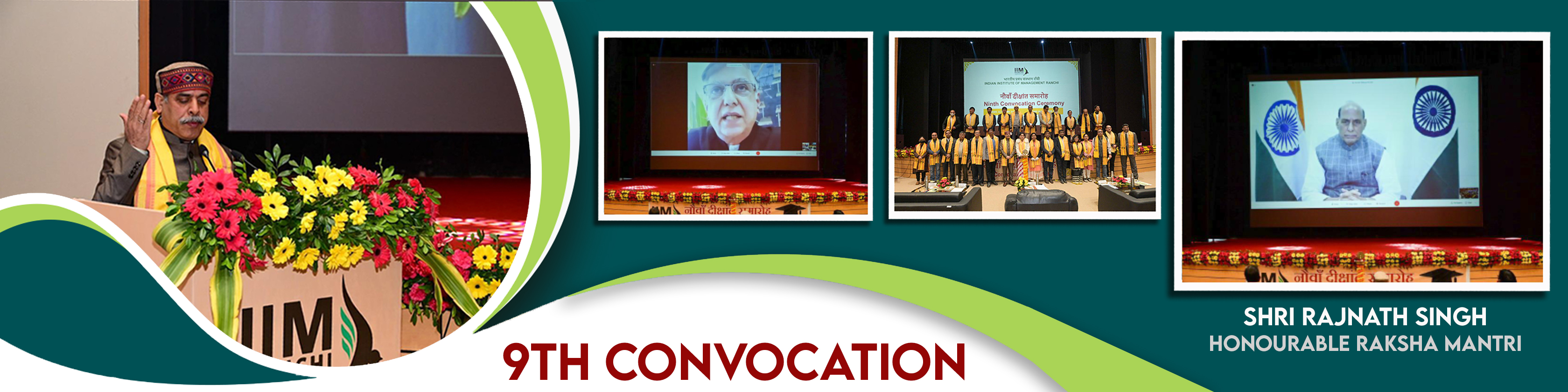 9th Convocation of IIM Ranchi